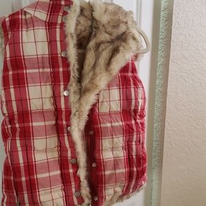 Juicy Couture Fall/winter plaid vest